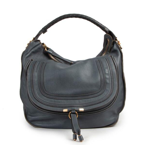 Chloé Blue Marcie Bag Large