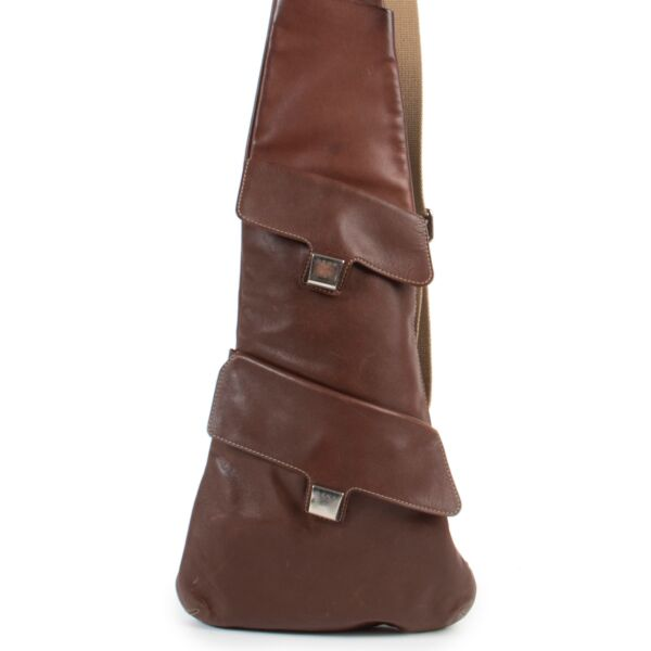 Delvaux brown crossbody bag online at the best price