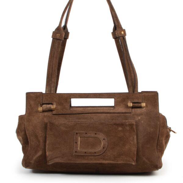 Achetez un authentique sac brune Delvaux d'occasion au juste prix.