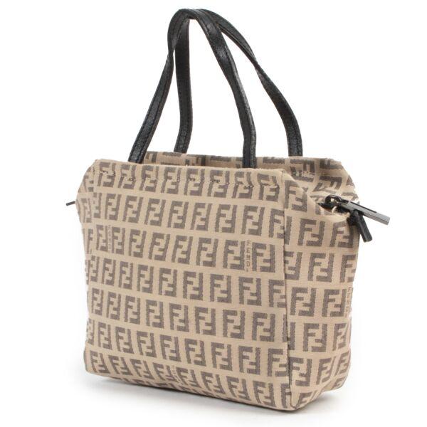 Fendi Mini Zucca Top Handle Bag