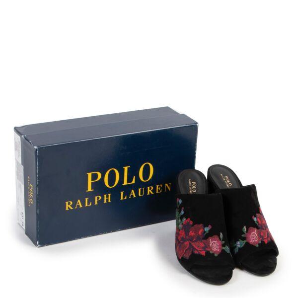 Ralph Lauren Black Kinley Loafers - Size 39