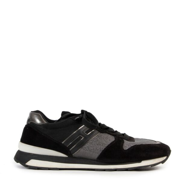 Hogan Black Sneakers - Size 40,5