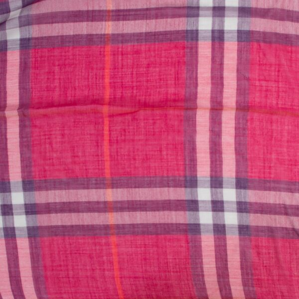 Burberry Pink Scarf
