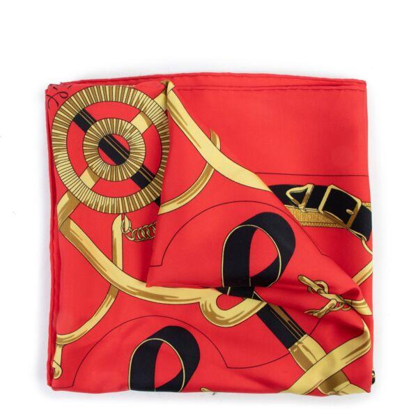 Hermès Multicolor Silk Scarf