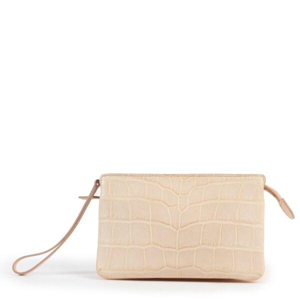 Delvaux Allure Beige Trio Wallet 100% authentic Delvaux pieces. Buy this wallet safely here!