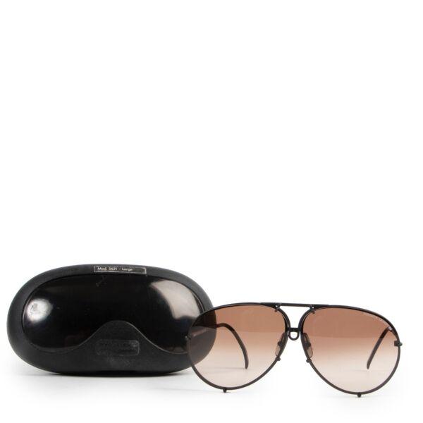 Porsche Carrera Brown Pilot Sunglasses