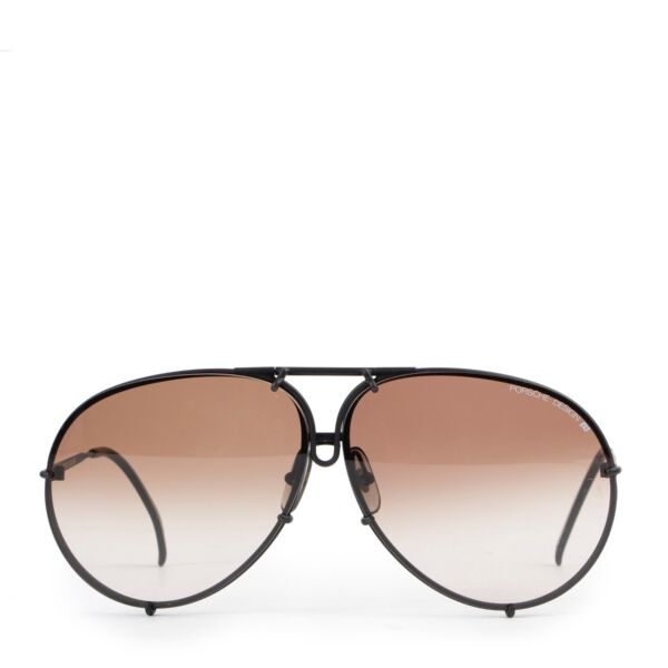 Shop safe online 100% authentic second hand Porsche Carrera Brown Pilot Sunglasses in very good condition at Labellov in Antwerp.