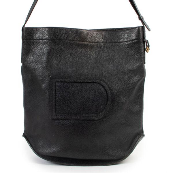 Delvaux Vintage Blue Pin Crossbody Bag