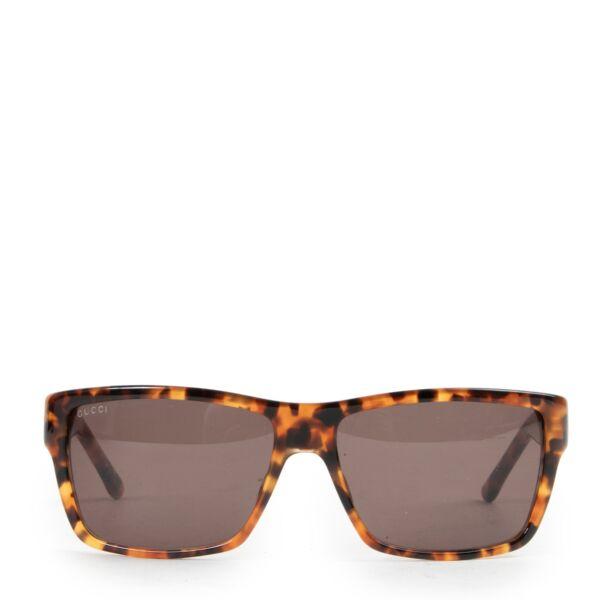Gucci Brown Tortoise Sunglasses