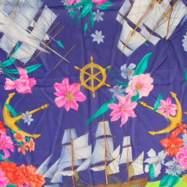 Leonard Multicolor Silk Scarf