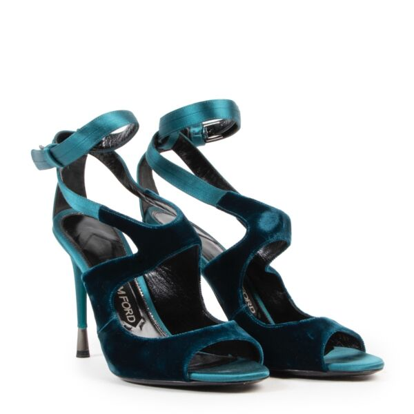 Tom Ford Blue Suede Pumps - Size 38