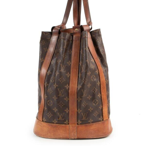 Louis Vuitton Randonnee PM Shoulder Bag