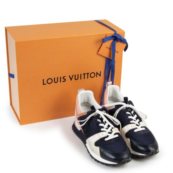 Louis Vuitton Runaway Sneakers Navy and Pink - size 40