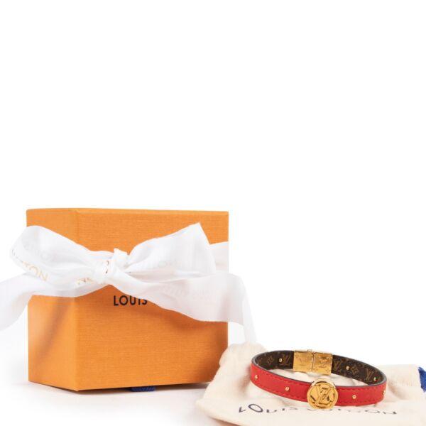 Louis Vuitton Monogram Circle Reversible Bracelet - Size 19