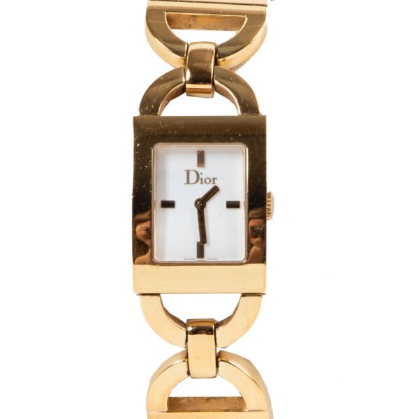 Christian Dior Gold Watch