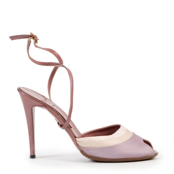 Fendi Pink Silk Pumps - Size 38
