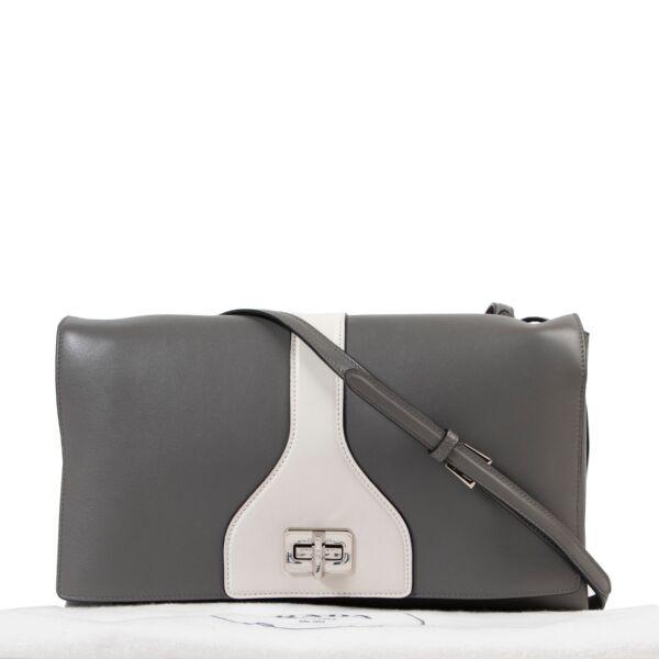 Prada Grey Crossbody Bag
