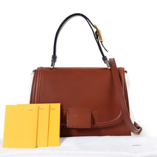 Fendi Multicolor Silvana Top Handle Bag
