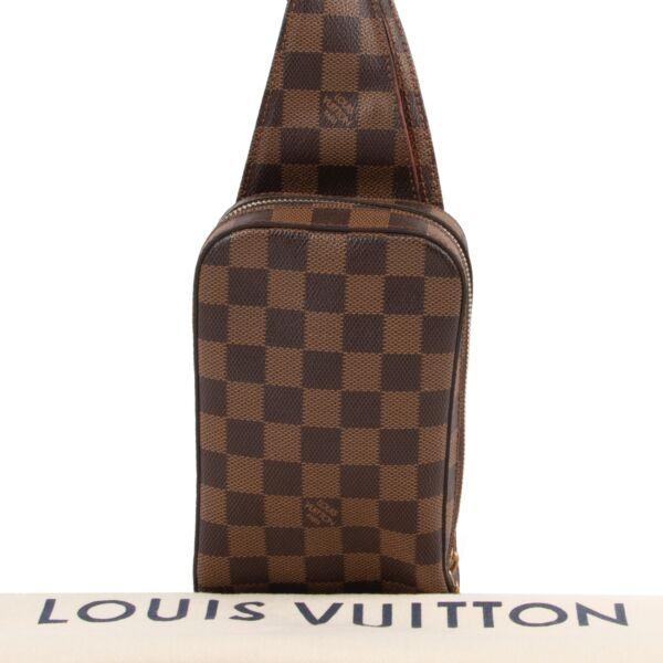 Louis Vuitton Brown Damier Ebene Geronimos Belt Bag