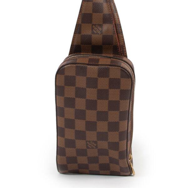 the perfect belt bag Louis Vuitton Brown Damier Ebene Geronimos Waist Bag