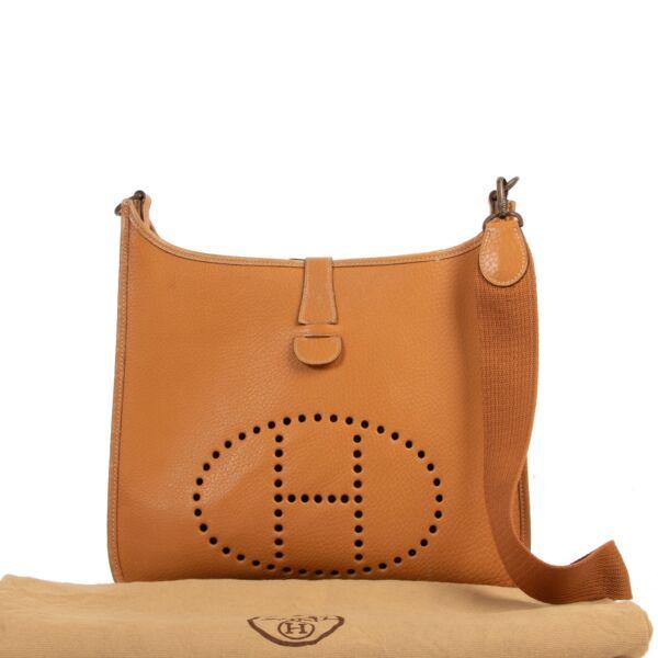 Hermès Cognac Evelyne 33 Bag