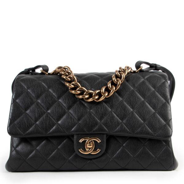 Chanel Black Quilted Flap Shoulder Bag