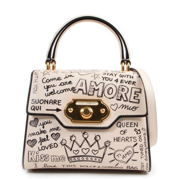 Shop safe online authentic second hand  Dolce & Gabbana Cream Leather Shoulder Bag. Buy online Dolce & Gabbana Cream Leather Shoulder Bag in a safe way. Shop Dolce & Gabbana Cream Leather Shoulder Bag online safely.
