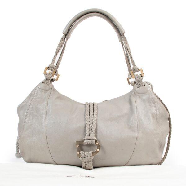Delvaux Grey Eugene Shoulder Bag