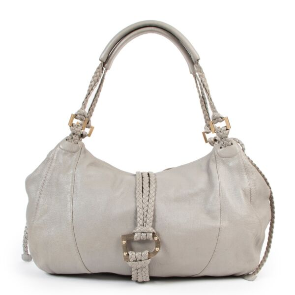 Safely purchase a used one Delvaux Grey Eugene Shoulder Bag. Buy online in a reliable way a Delvaux Grey Eugene Shoulder Bag. Buy in a safe site and easy way a Delvaux Grey Eugene Shoulder Bag