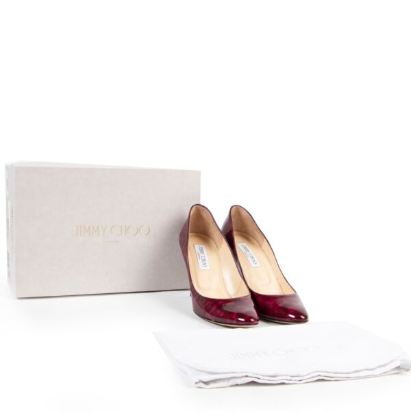 Jimmy Choo Purple Pumps - Size 38,5