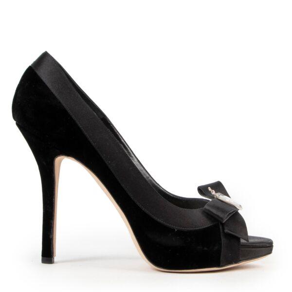 Christian Dior Black Pumps