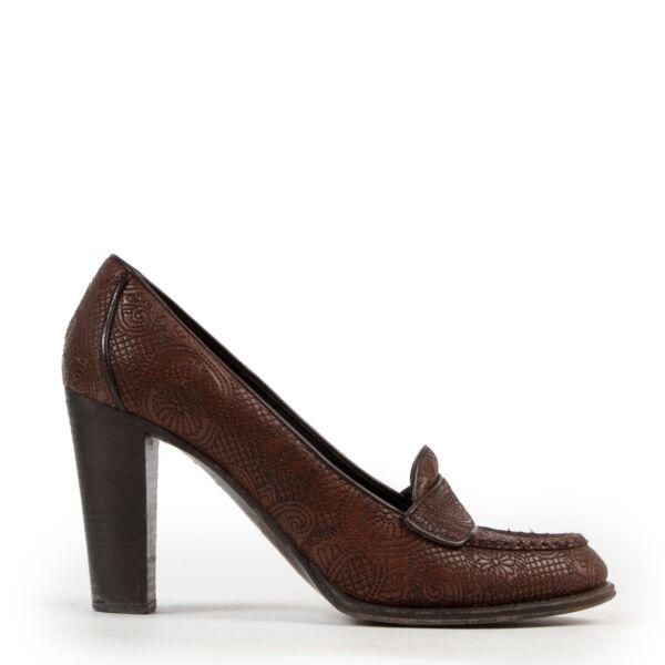 Koop en verkoop uw authentieke designer Prada Brown Pumps - size 41 aan de beste prijs online