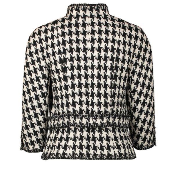 Chanel Pied de Poule Tweed Vest - FR38