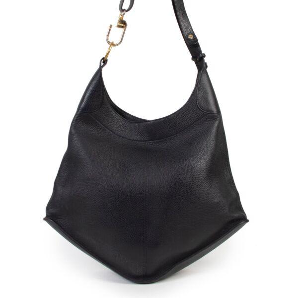 Shop safe online authentic second hand Delvaux Black Satan Shoulder Bag. Buy online Delvaux Black Satan Shoulder Bag in a safe way. Shop Delvaux Black Satan Shoulder Bag online safely.