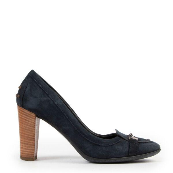 Buy Tods Blue Suede Pumps-Size 38 1/2 reliably.