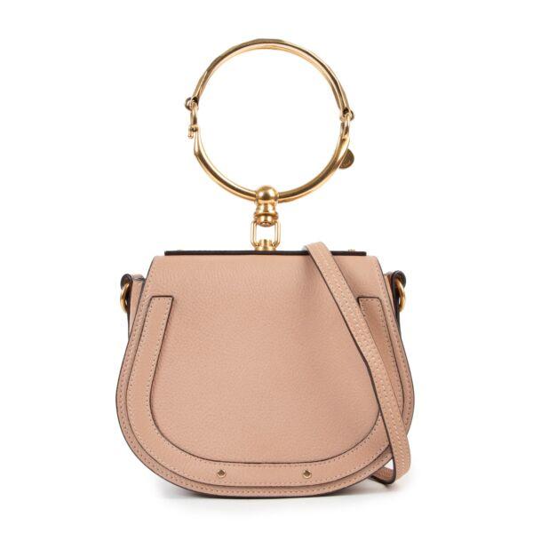 Chloe Small Biscuit Nine Bracelet Shoulder Bag