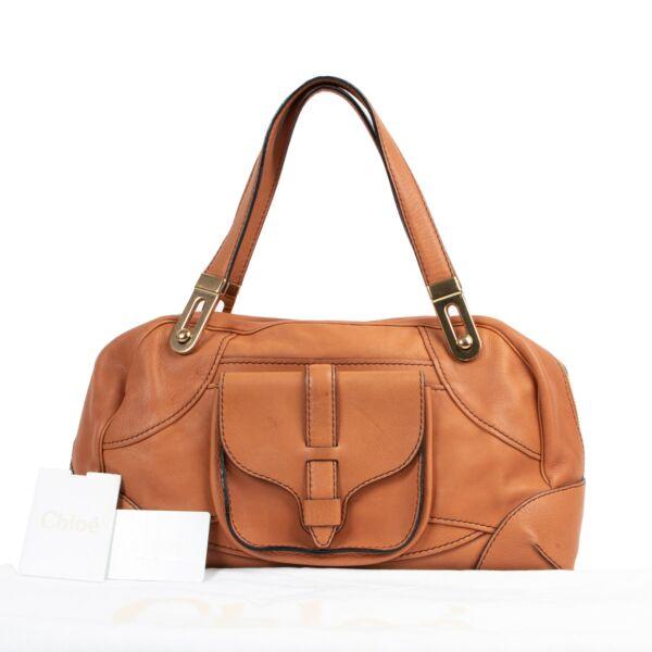 Chloé Camel Shoulder Bag