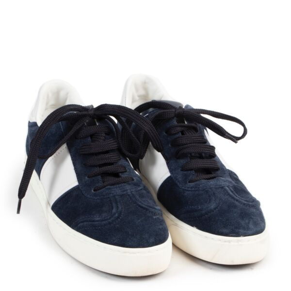Valentino Blue Suede Sneakers - Size 37