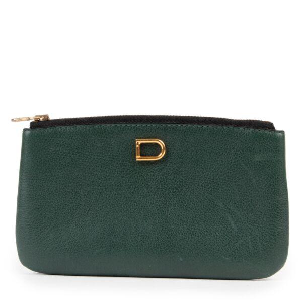Delvaux Green Pochette