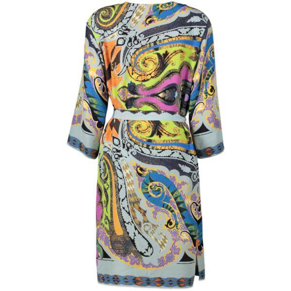 Etro Multicolor Printed Silk Dress - size IT46