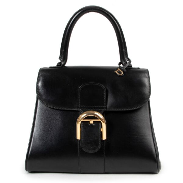 Shop safe online authentic second hand Delvaux Black Brillant PM. Buy online Delvaux Black Brillant PM in a safe way. Shop Delvaux Black Brillant PM online safely.