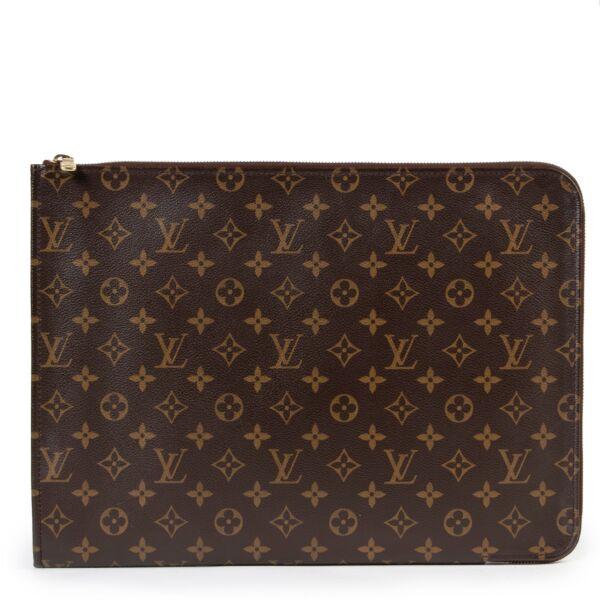 Louis Vuitton Monogram Laptop Case