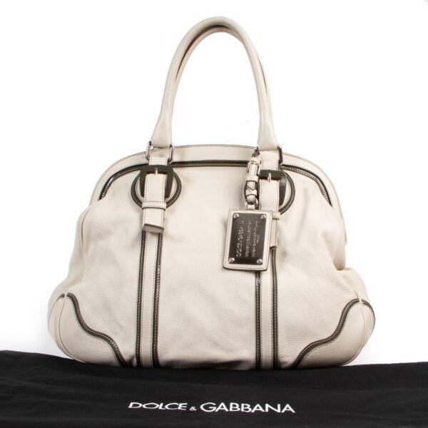 Dolce & Gabbana Cream Miss Romantique Shoulder Bag