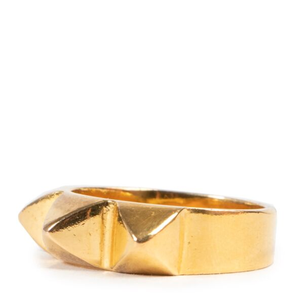 Wouters & Hendrix Gold Studs Ring - Size 56