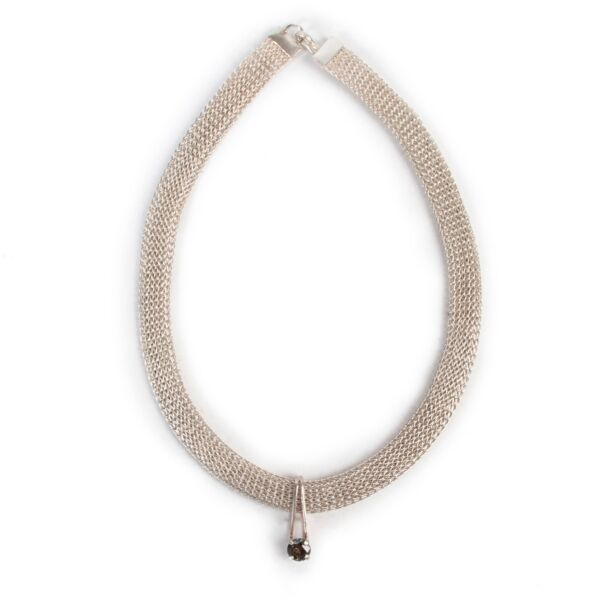 Shop safe online authentic second hand Wouters & Hendrix Silver Necklace in very good condition and at the right price at Labellov.com.