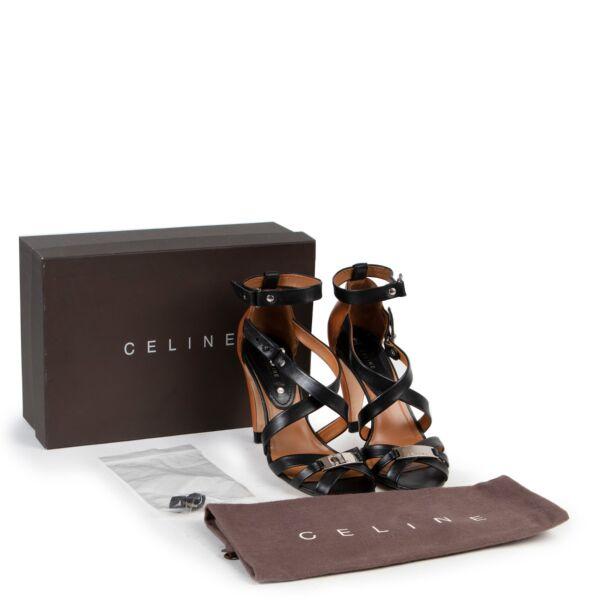 Céline Black Leather Pumps - Size 38