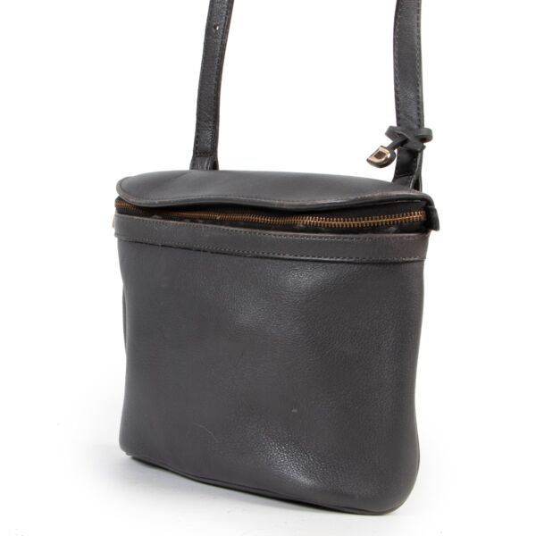 Delvaux Grey Crossbody Bag