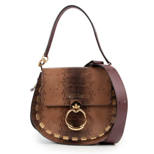 Chloé Tess Saddle Bag Medium