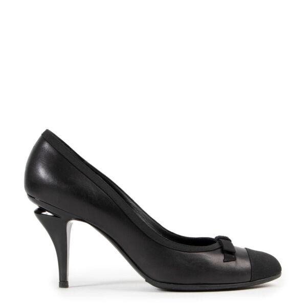 Chanel Black Escarpins Pumps