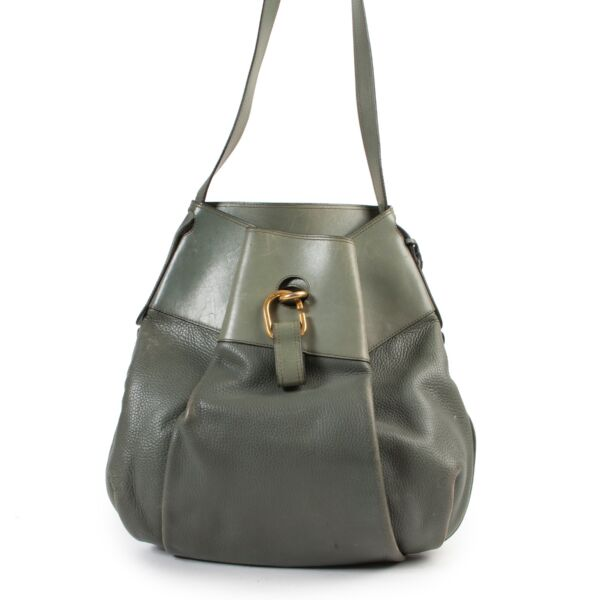 Buy online Delvaux Green Leather Crossbody Bag in a safe way. Shop Delvaux Green Leather Crossbody Bag online safely. Buy authentic second hand Delvaux Green Leather Crossbody Bag in a safe way online.